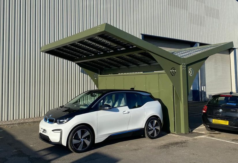 Our Modular Car Port: Helping Local Industries Decarbonise the UK Economy