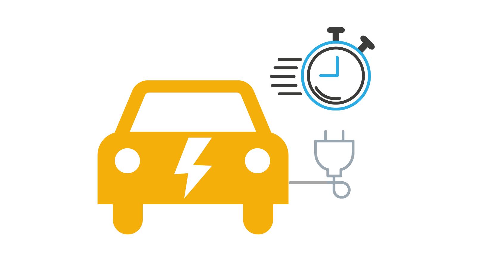 EV Charging Speed Icon